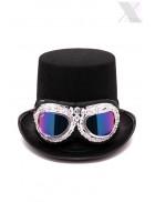 Фестивальные очки с камнями и жемчугом