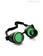 Очки-гогглы Стимпанк с монокуляром