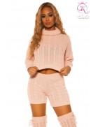 Вязаный свитер и шорты KC3018