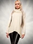 Асимметричный свитер 111136