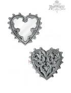 Компактное зеркальце Gothic Heart