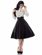 Винтажная юбка-солнце X7105