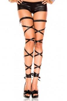 Чулки-шнурок под кожу