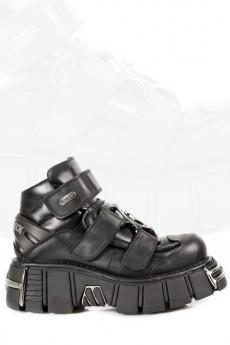 Ботинки с металлической вставкой