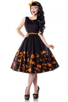 Платье Pin-Up с цветочным узором XC5457