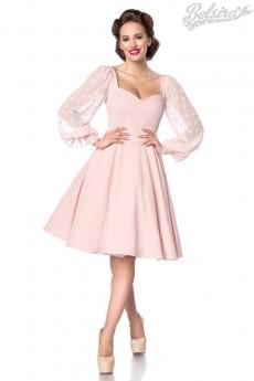 Платье Ретро с вырезом в форме сердца Belsira