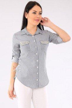 Рубашка женская с коротким рукавом BD3026