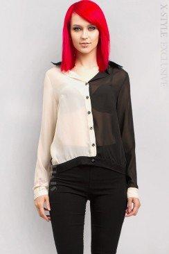 Блузка из шифона X178