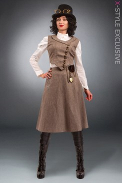 Женский костюм Steampunk Retro X8038