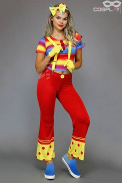 Женский костюм клоуна Cosplay Couture