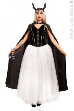 Костюм Demoniq (корсет, юбка, головной убор, мантия)