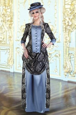 Викторианское платье конца 19 ст.