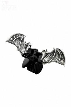 Заколка для волос Crystal Bat