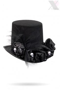 Женская шляпа Santa Muerte (ручная работа)