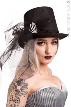 Шляпа-цилиндр Рука скелета X139