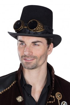 Шляпа-цилиндр Steampunk CC1141