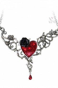 Колье The Blood Rose Heart