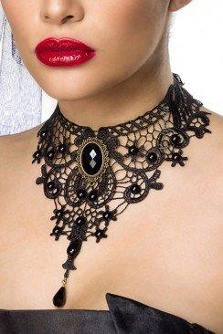Кружевное ожерелье-чокер