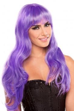 Фиолетовый парик Cosplay Couture