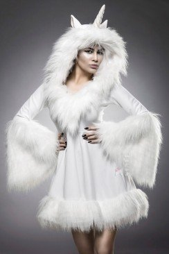 Карнавальный женский костюм Единорог
