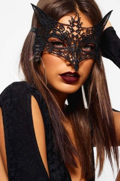 Ажурная маска с ушками CC1059