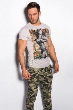 Мужская футболка с принтом MF2001