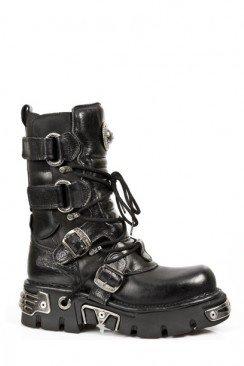 Ботинки с ремешками