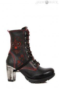 Ботинки женские с перфорацией TR051-S1