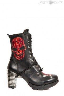 Ботинки женские на каблуке TR079-S2