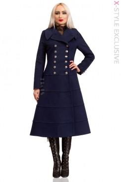Зимнее шерстяное пальто X5060