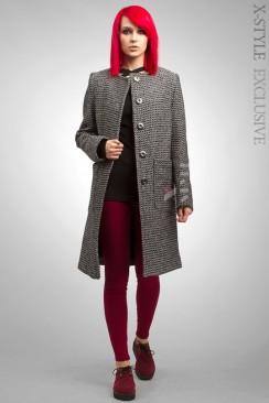 Твидовое пальто XT-34