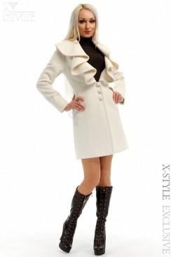 Элегантное кашемировое пальто X-Style