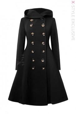 Зимнее пальто с капюшоном X15052