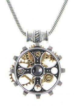 Кулон Foundryman`s Ring Cross (ручная работа)