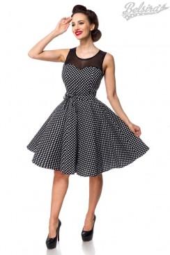 Платье в горошек в стиле Ретро B5514