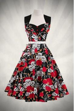 Платье Rockabilly с поясом X436