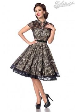 Ажурное вечернее платье в стиле Ретро B5481