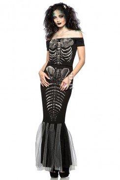 Платье Скелет русалки