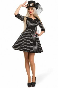 Хлопковое платье Miss Steampunk