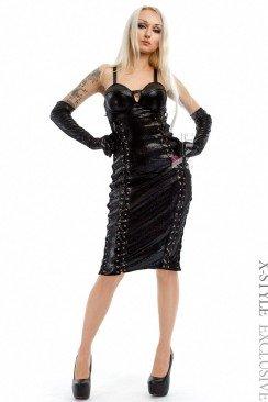 Облегающее платье 105210