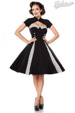 Винтажное платье с болеро Belsira