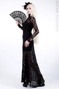 ... Довге мереживне плаття зі шлейфом Xstyle ... 25eb4bd8ba773