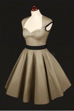 Платье в стиле 50-х с подъюбником