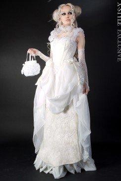 Свадебное платье 2 пол. 19 ст.