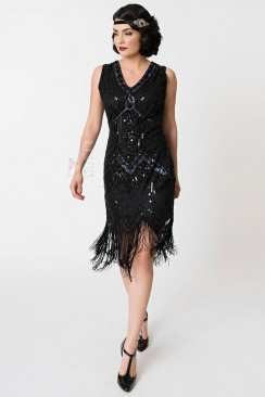 Платье в стиле 20-х XC5384