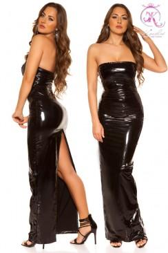 Длинное платье под латекс KouCla