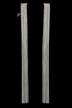 Длинные серьги-цепочки (20 см)