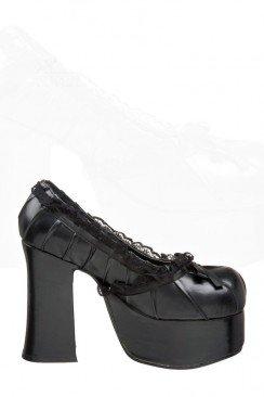 Туфли с кружевом Demonia