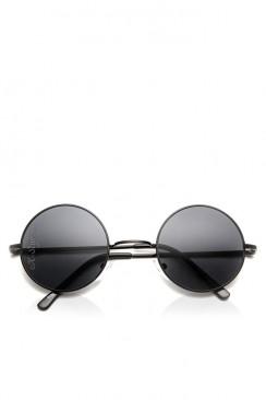 Круглые черные очки I5011