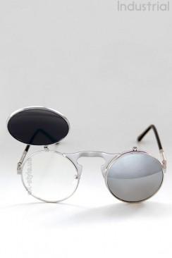Зеркальные круглые очки Hitek